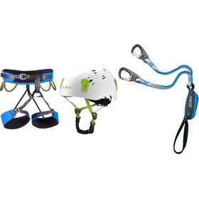 Camp Kit Ferrata Kinetic Rewind Energy with Harness Energy and Helmet Titan